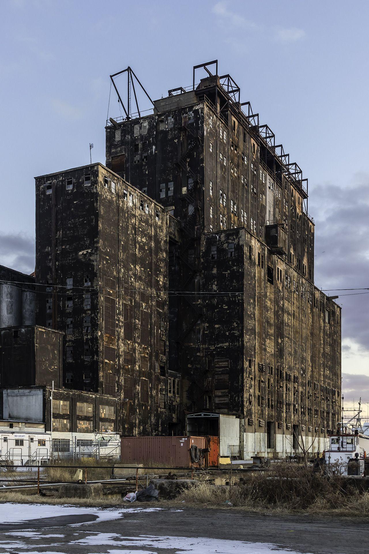 Patgavin Pennsylvania Railroad Grain Silo Featured In The Movie Power Relay Urbex Ladder 49 Newgate Ave Canton Baltimore Md