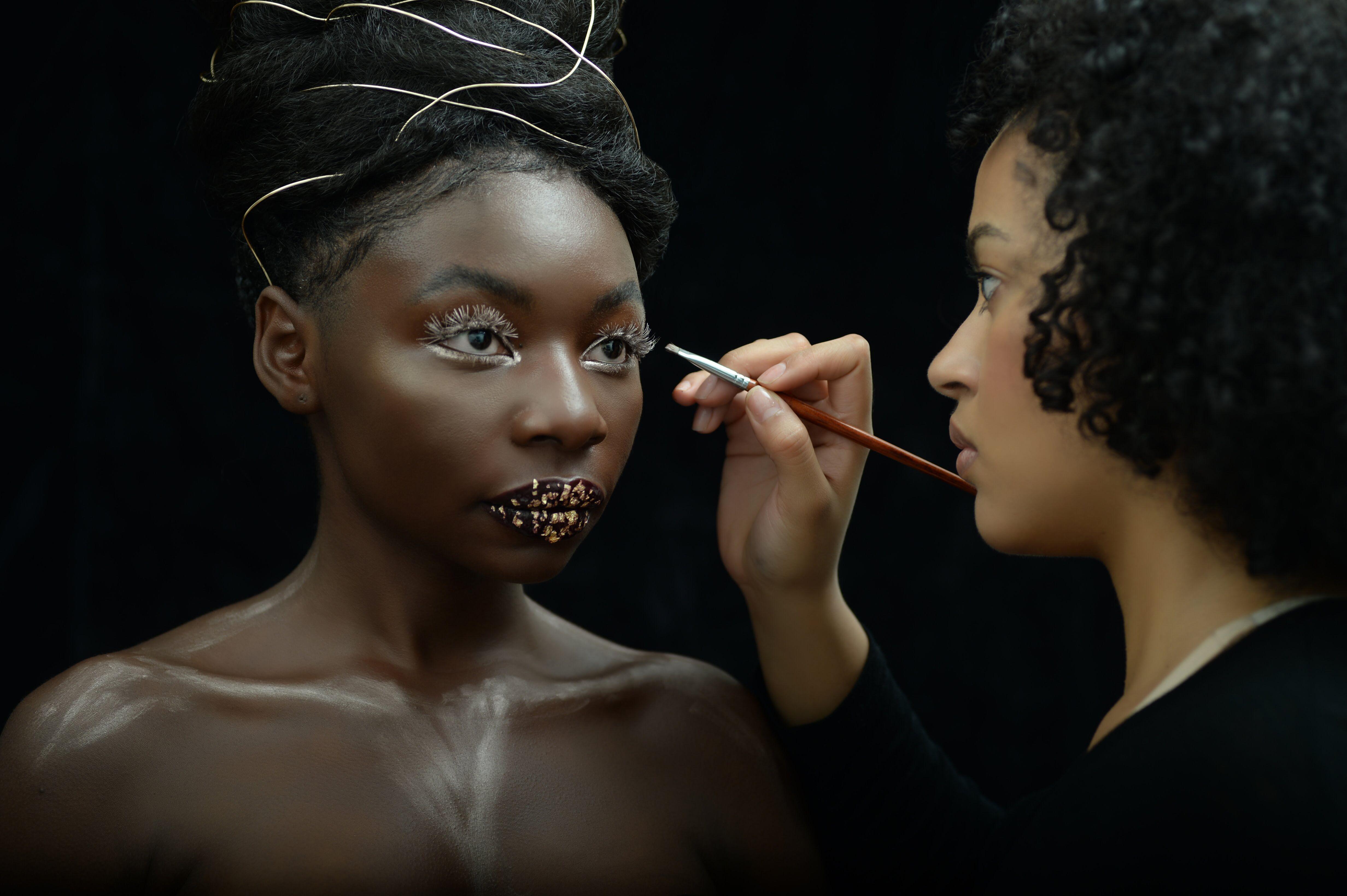 Zambian wedding decorations  Theresa Klein for Carrise Zorrilla Beauty Zambian model