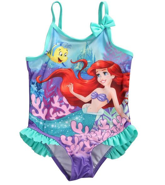 Mermaid Kids Baby Girl One-piece Bikini Swimwear Swimsuit Bathing Suit Beachwear