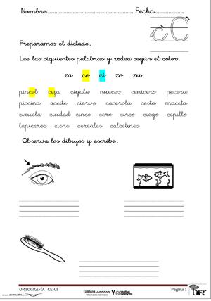 Ortografía Para Primer Ciclo De Primaria Actividades Lúdicas Educativas Ortografía Ortografia Ejercicios Lectura Y Escritura