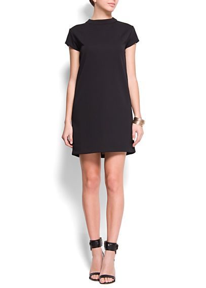 RELAXED-FIT STRAIGHT-CUT DRESS EUR24.99 REF. 63440320 - MEVOY