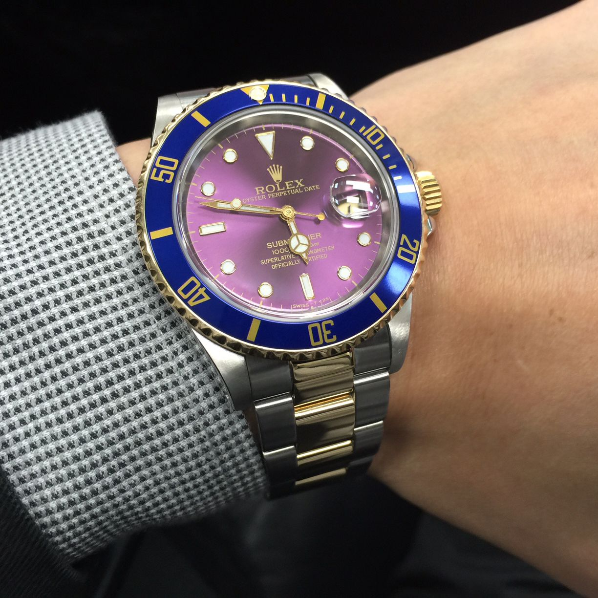 Sneak Peak At Rolex Submariner Two Tone Reference 16803