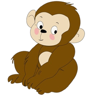 Cartoon Baby Monkey | Funny Baby Monkey Pictures | Places to Visit ...