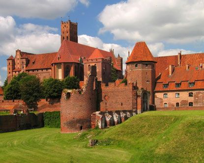 Malbork, Poland. This is the largest brick castle in Europe. The inside was marvelous. Hearing the history was amazing. COMPLETE