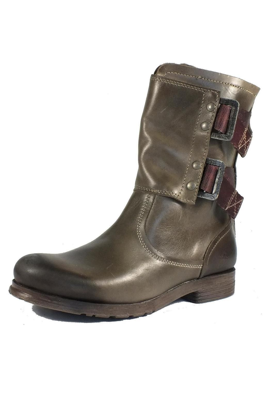 Damen Bottes De Motard Mok Fly London