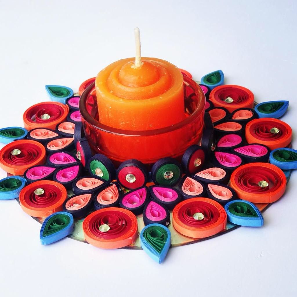 canndle... | CRAFTS TO DO | Quilling, Quilling craft ... - photo#43