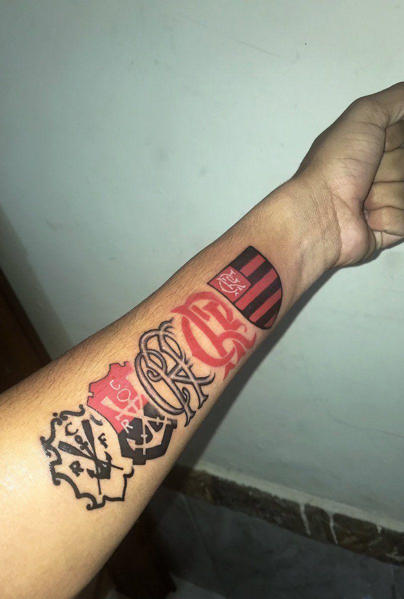 Vou Fazer Tatuagens Do Flamengo Tatuagem Flamengo E Tatuagem