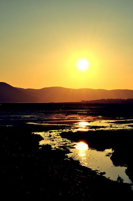 Mourne Sunset 3 With Images Mountain Pictures Wonders Of The World Landscape Photography