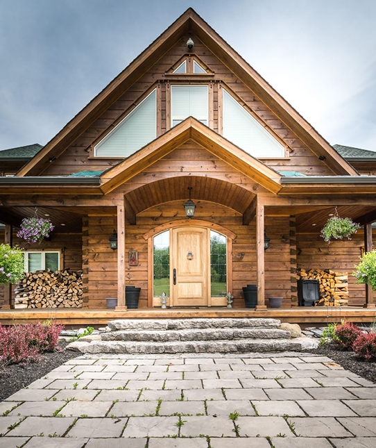 Build the Cottage of Your Dreams | Confederation Log & Timber Frame ...