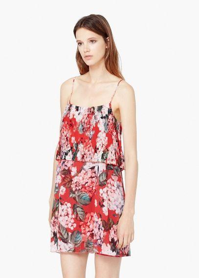 Платье -- puchi   MANGO