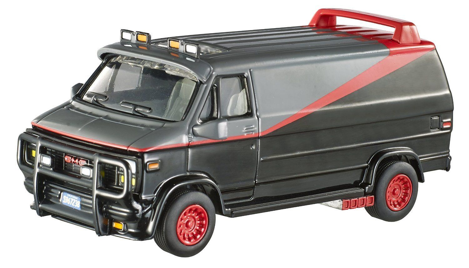 Hot Wheels Elite One A Team Van 1 50 Scale A Team Van Hot