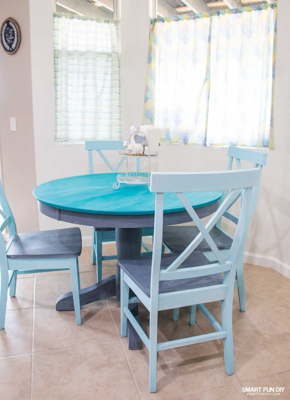Chalk Paint Table Makeover | Cooking Pastry recipes and kitchen ...