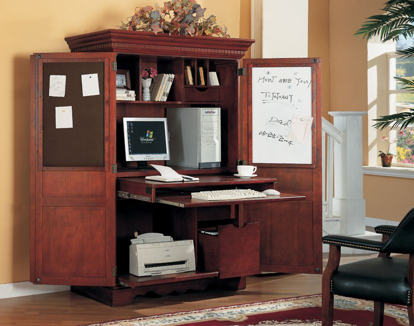 Beau Home Office Computer Armoire