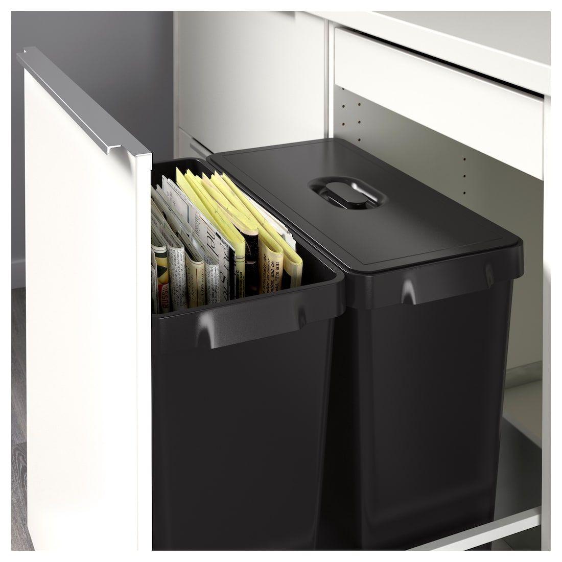Pin by Karen Johnson on Keuken  Recycling bins, Kitchen waste bin