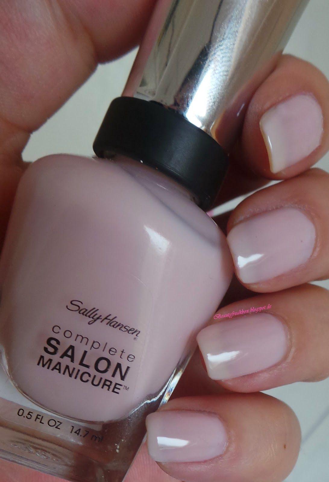 Beauty Freak Box: Sally Hansen Complete Salon Manicure – 160 Shell W ...