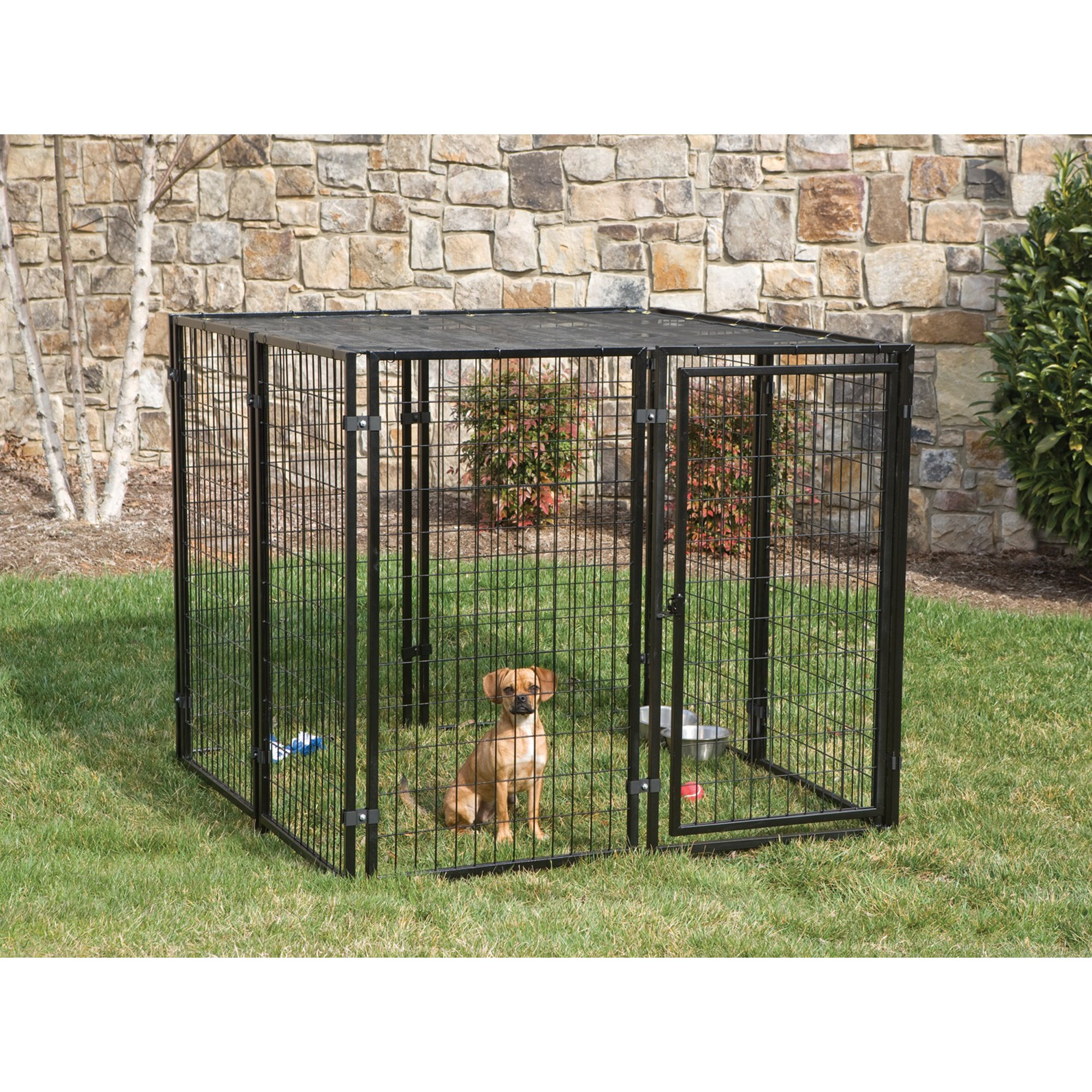 Fencemaster Cottageview Dog Kennel Petco Dog Kennel Outdoor