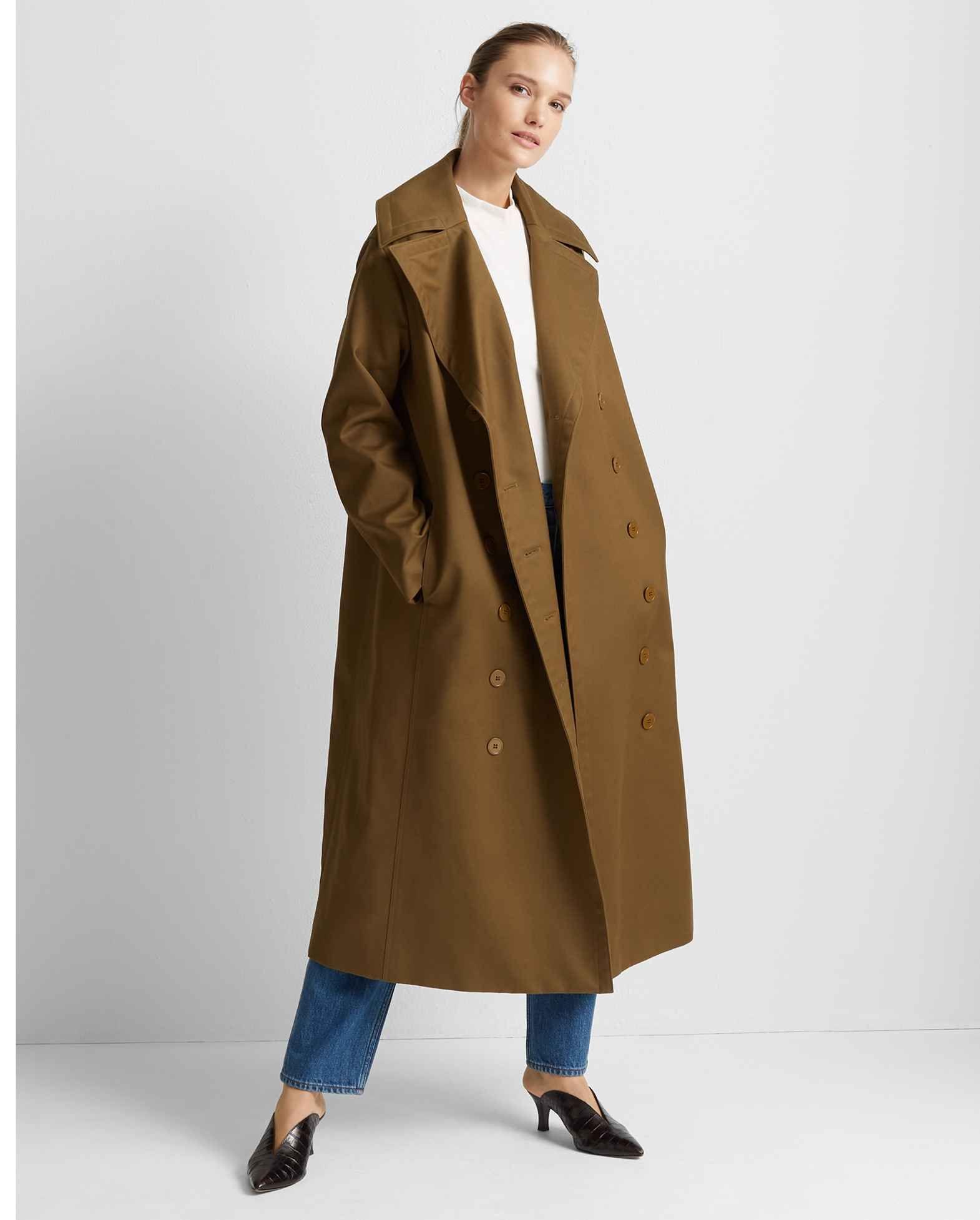 Long double breasted coat | Patrizia Pepe