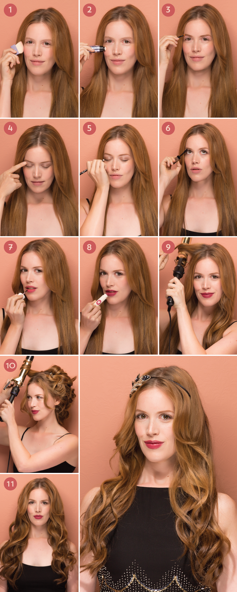 Golden Era Glam How To Get Roarin 20s Hair And Makeup 20s