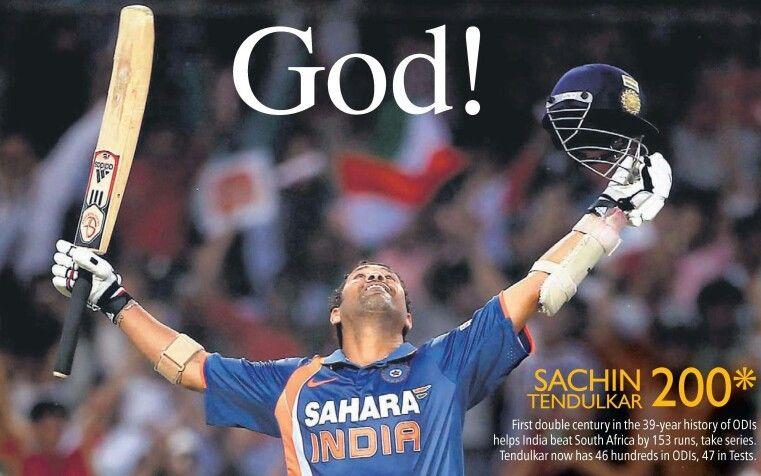 First Man On Earth To Score 200 Runs In Odi Cricket
