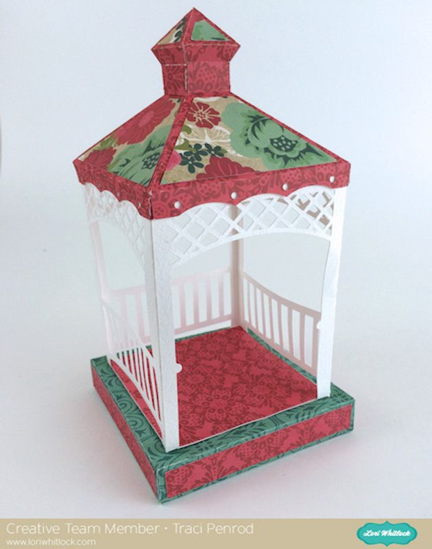 3D Gazebo Tutorial with Lori Whitlock Designs by Traci Penrod ... 6cabd661a3