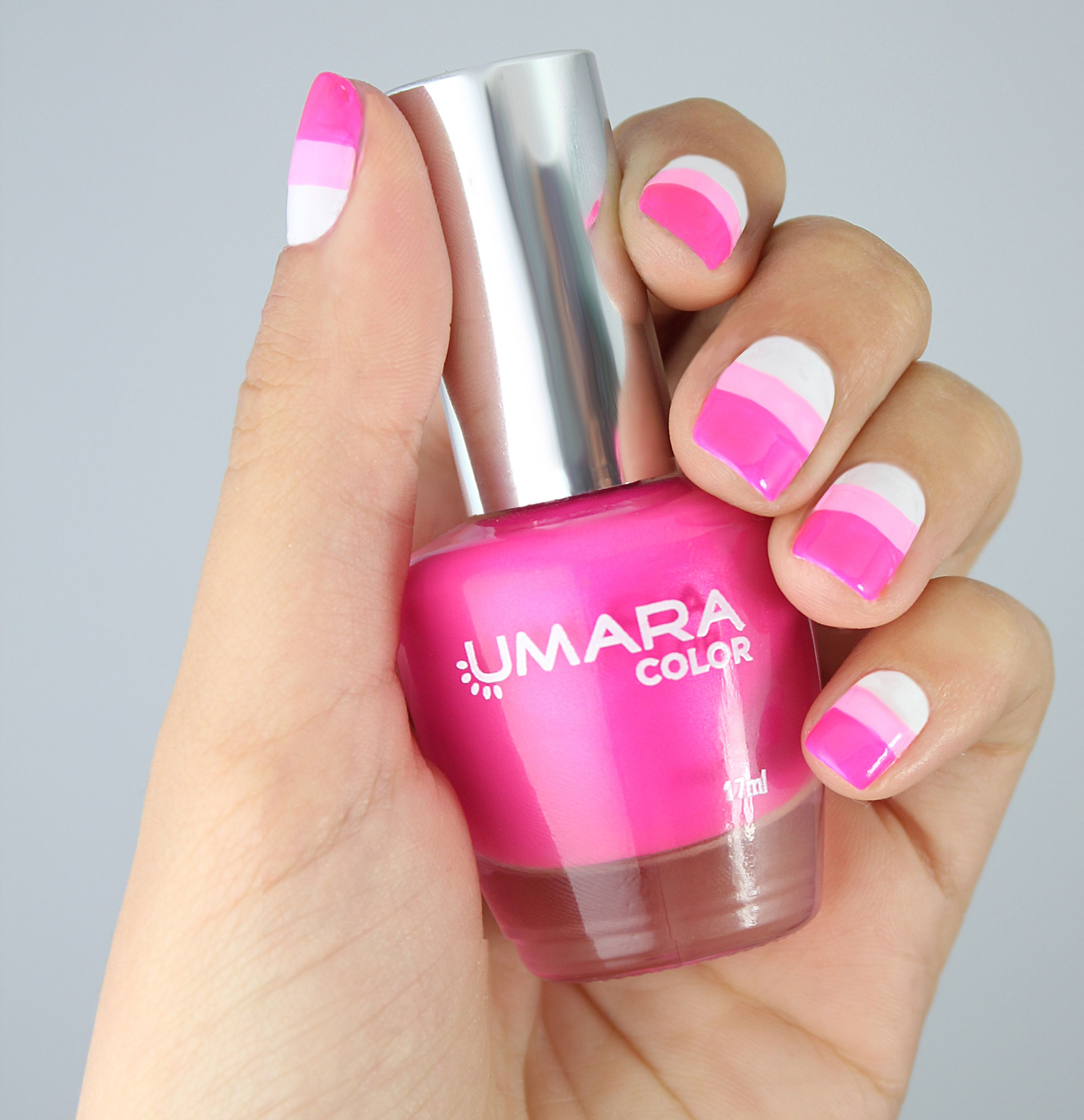Look a rayas by Umara #Umara #UmaraNails #Manicure #Nails #Polish ...