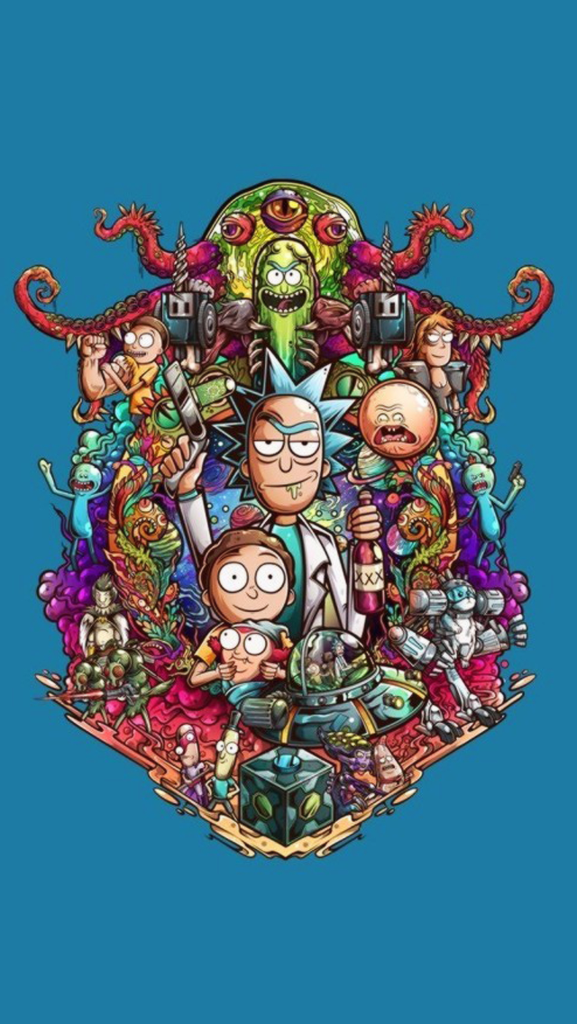 Pin by Ray Webber on Rick and Morty Iphone wallpaper