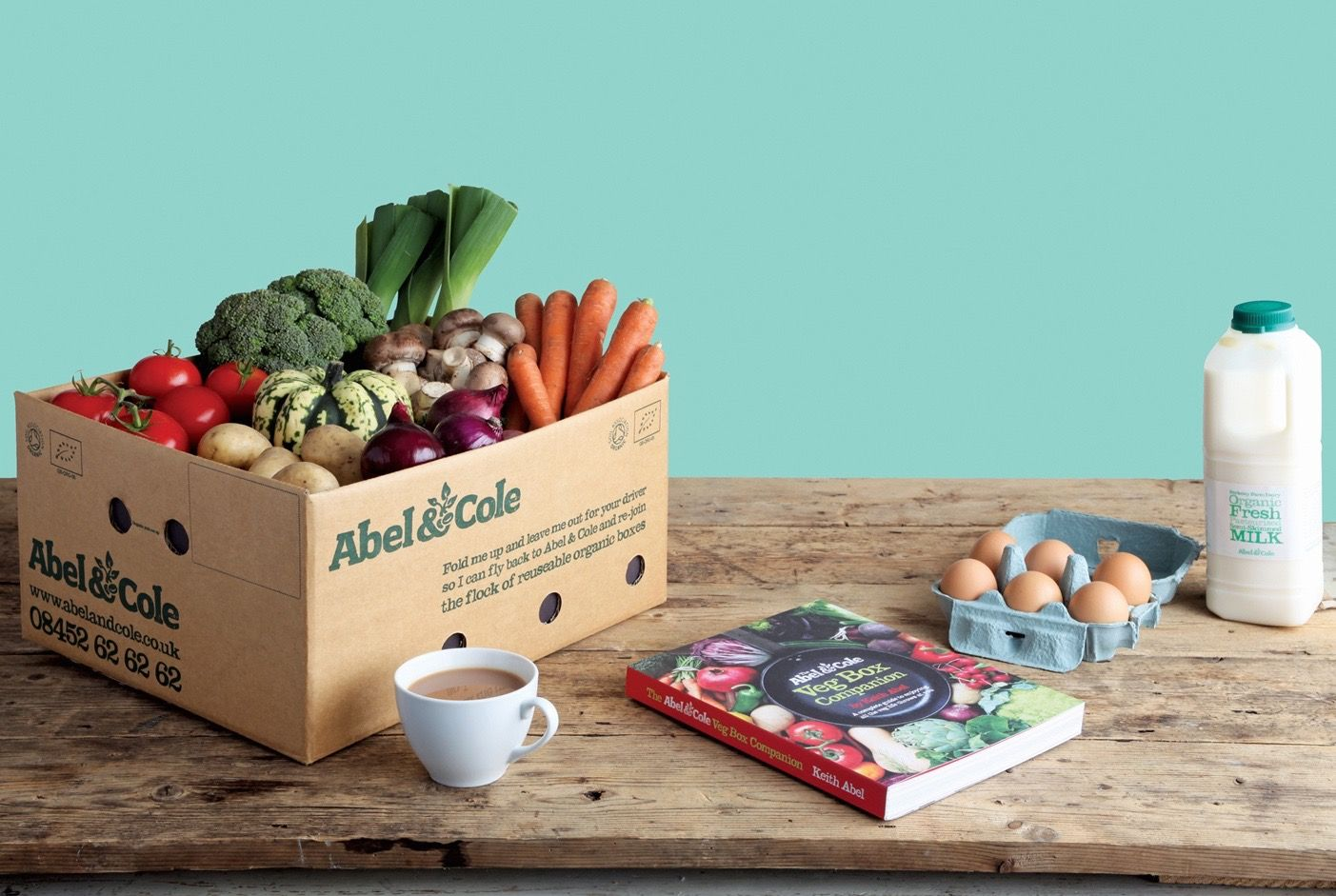 Abel & Cole, London: Ethical, eco, organic & seasonal grocery delivery