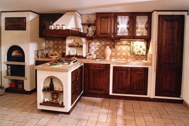 Cucine in finta muratura | Casa rustica | Pinterest