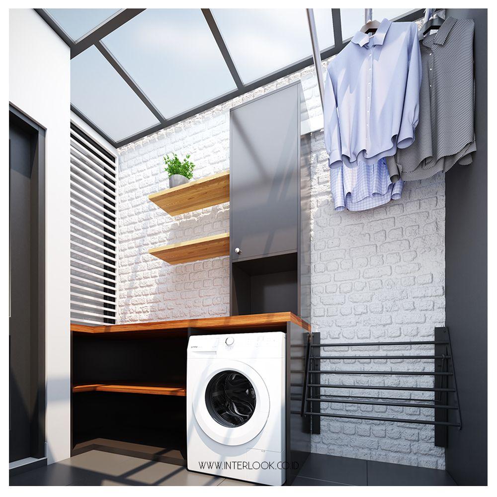 Masih seperti project laundry area sebelumnya dimana atap