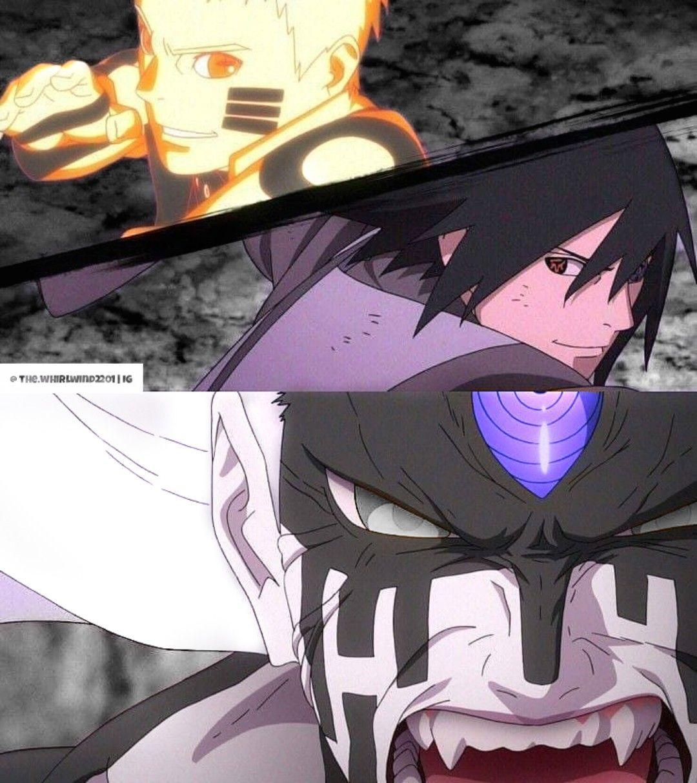 Naruto And Sasuke Vs Momoshiki Naruto Sasuke Vs Naruto Vs Sasuke