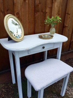Vanity with Stool, Desk in San Jose, CA (sells for $139 ...