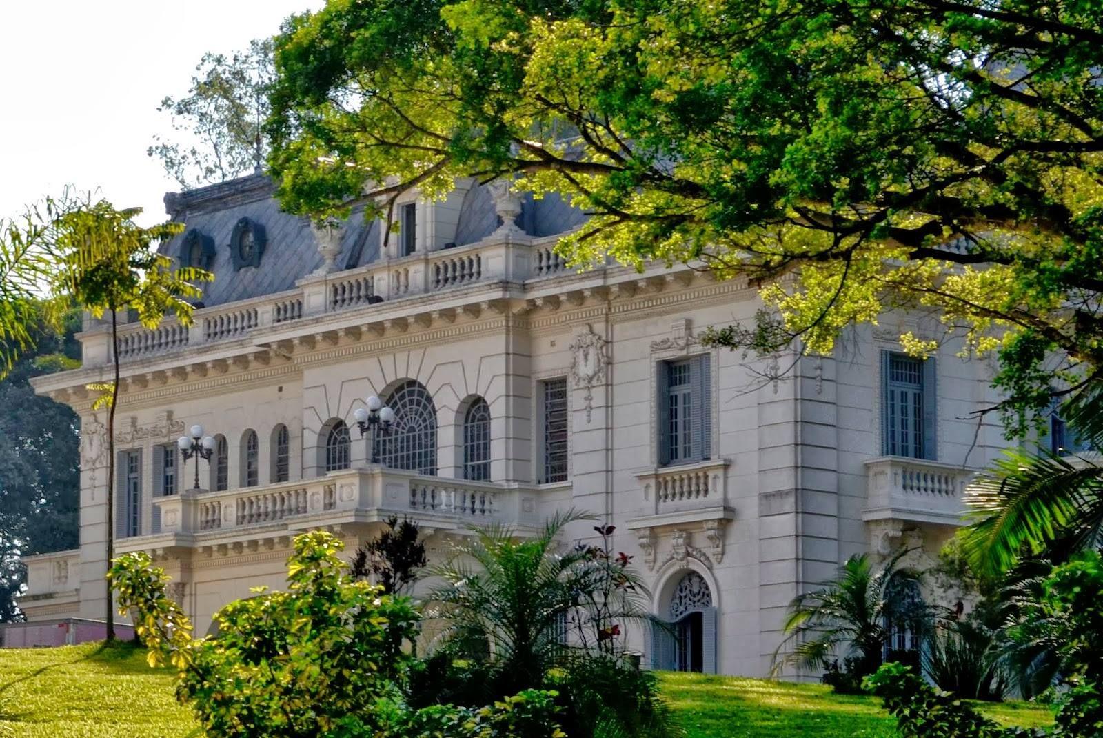 Palacio Dos Cedros Ipiranga Sao Paulo Em 1923 Era Inaugurada