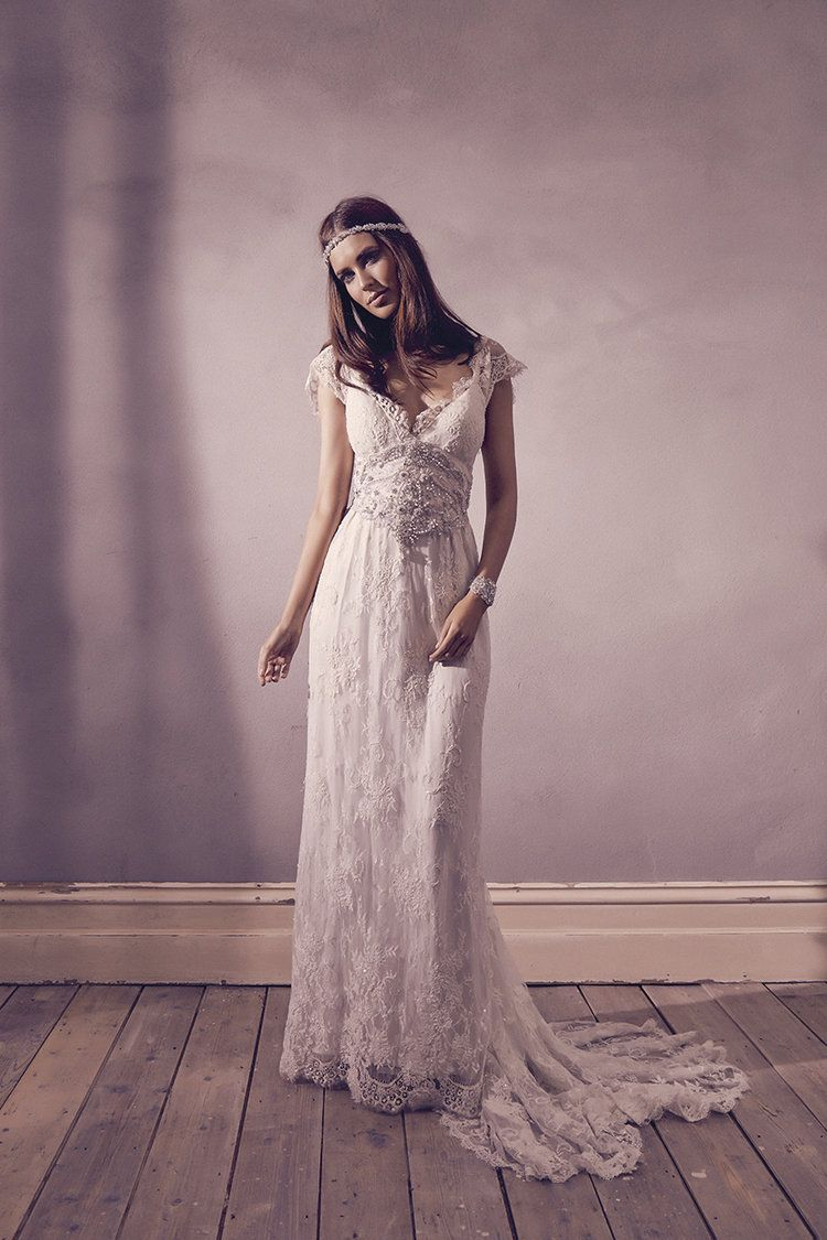 Anna campbell bridal eloise dress vintageinspired embellished