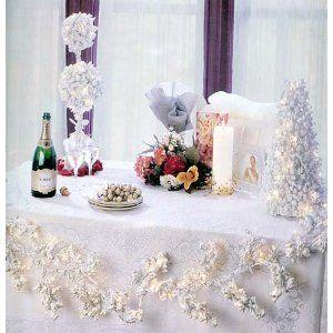 Winter Modern Wedding Decorations Ideas