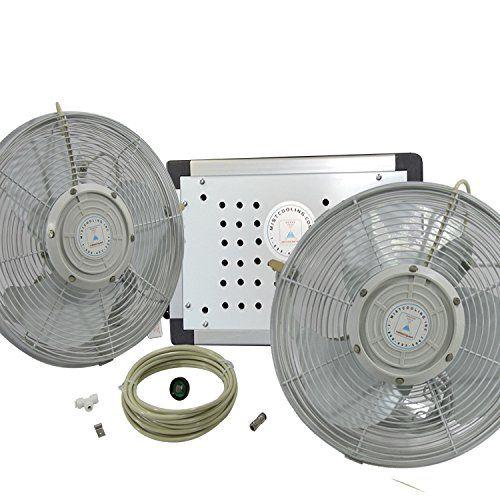 Misting Fans Misting Fan System 14 Inch Outdoor Misting Fan