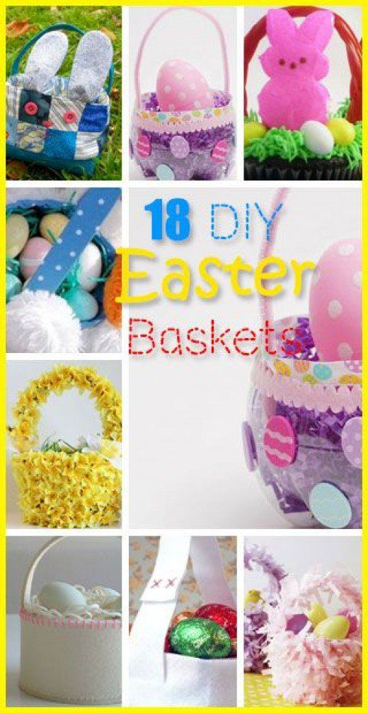 Diy easter baskets gifts for teens basket ideas easter baskets easy diy easter basket ideas for kids negle Images