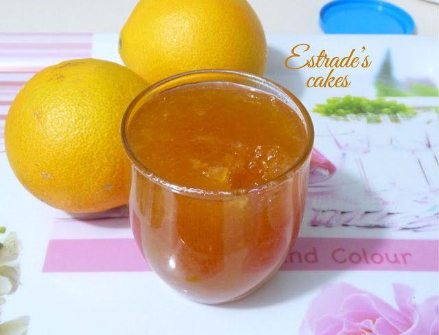 Estrade's cakes: receta de mermelada de naranja