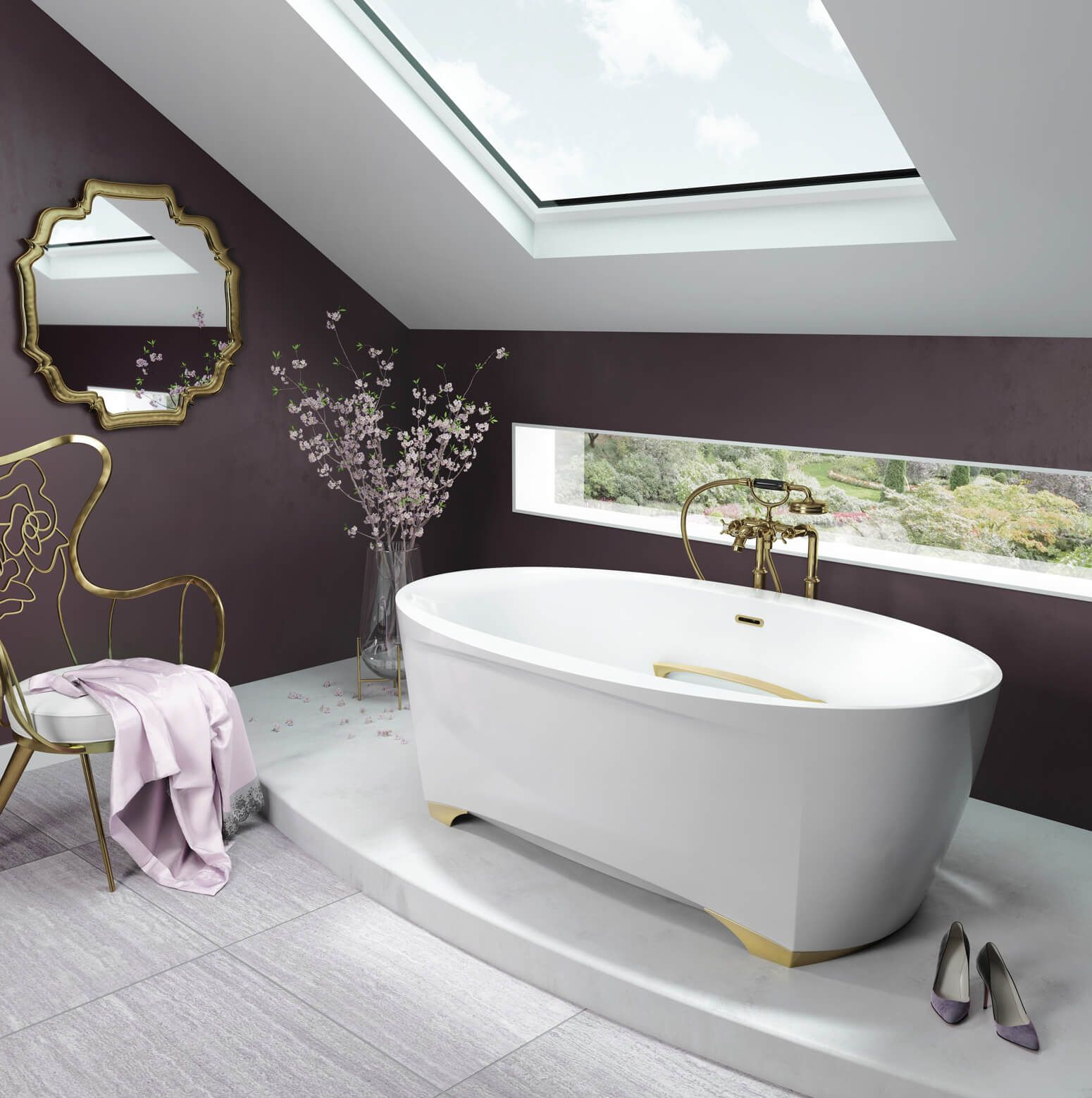 Scala 6638 Free Standing Bath Tub Bathrooms Remodel Jetted