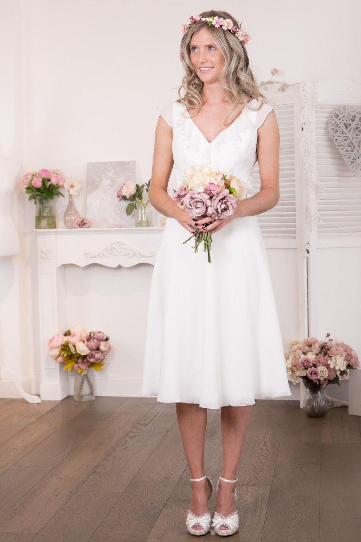 3 Standesamtkleider Für Die Braut in 3  Kleid standesamt