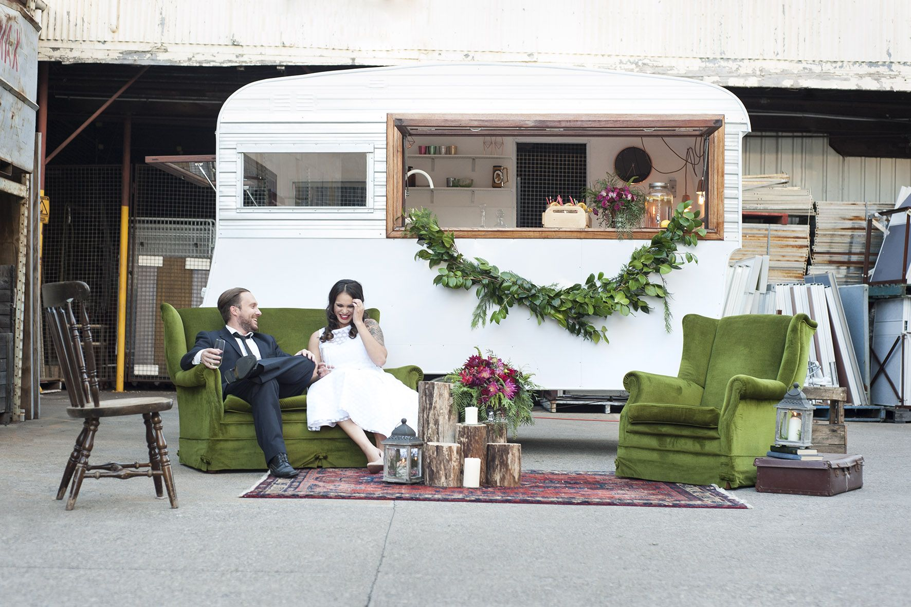 gathering events offers a charming renovated mobile vintage