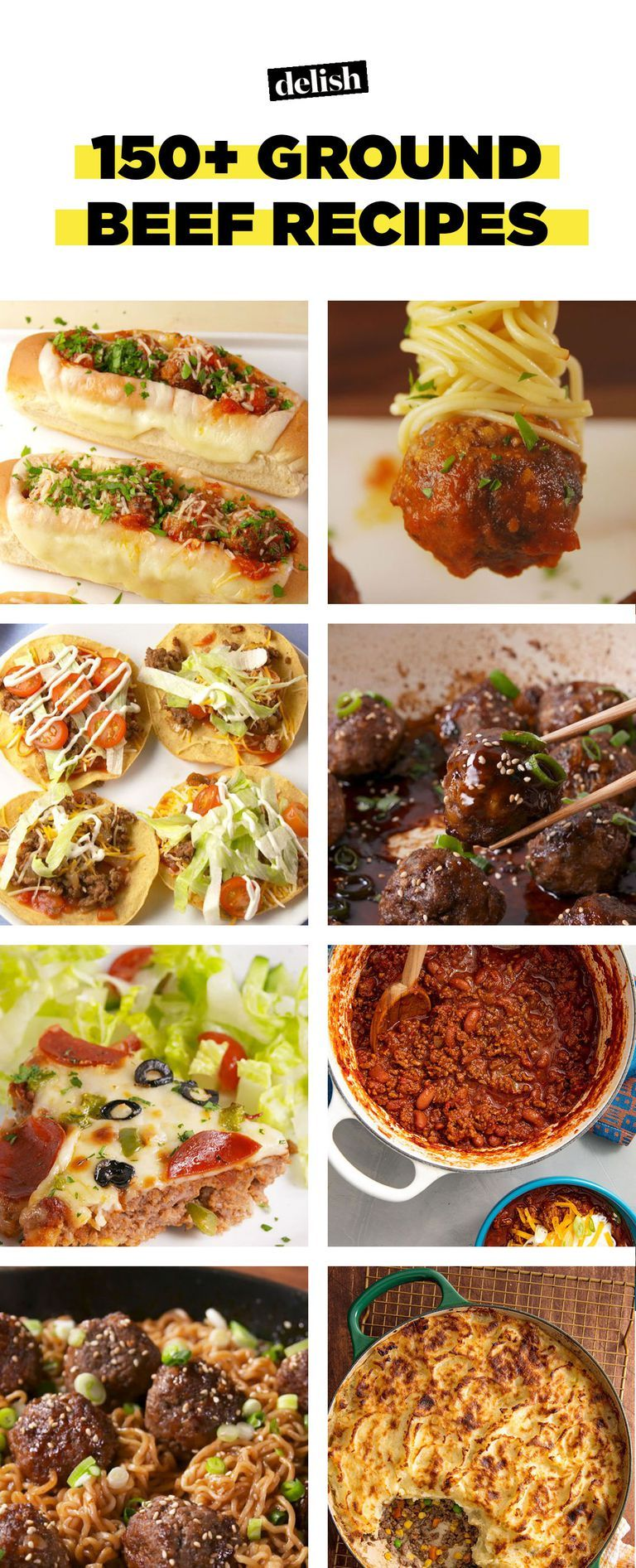 150 Easy Ground Beef Recipes What To Make With Ground Beef Delish Com Ground Beef Recipes Dinner With Ground Beef Cooking With Ground Beef