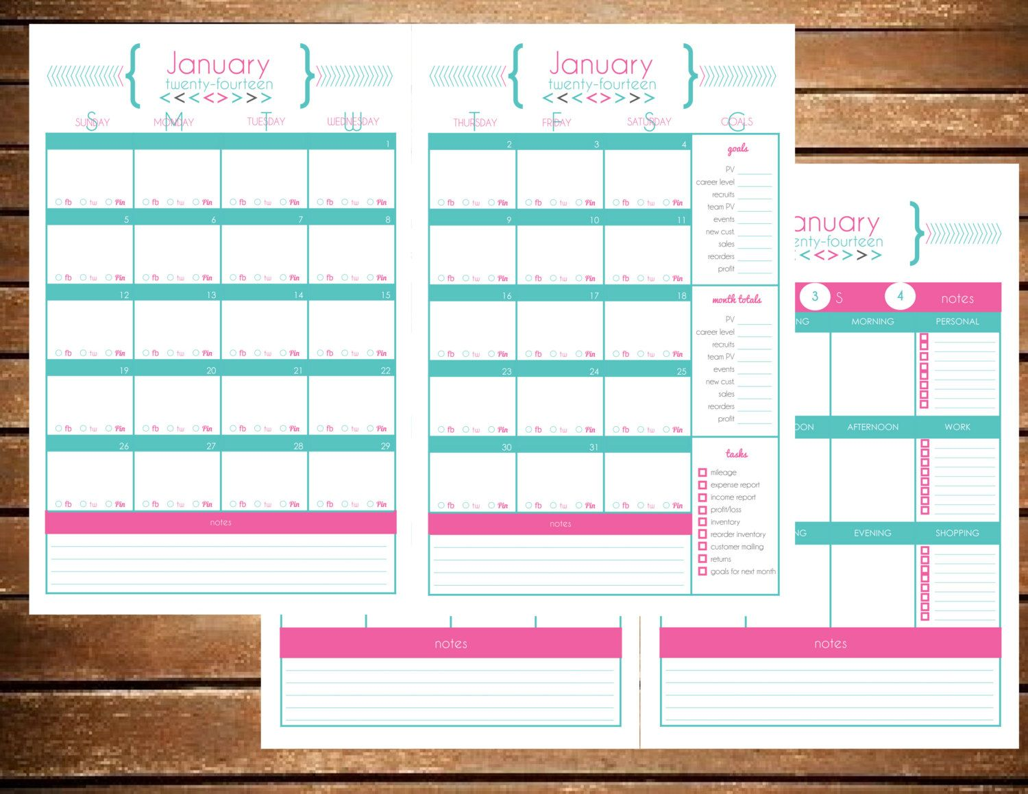 Instant Download Direct Sales Party Planner by