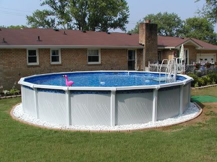 Above Ground Pool Ideas Backyard Pool Best Above Ground Pool