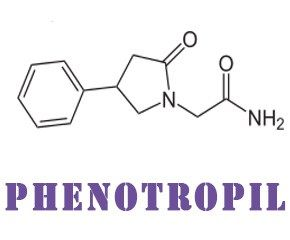 phenotropil is a russian smart drug with stimulant action, similar