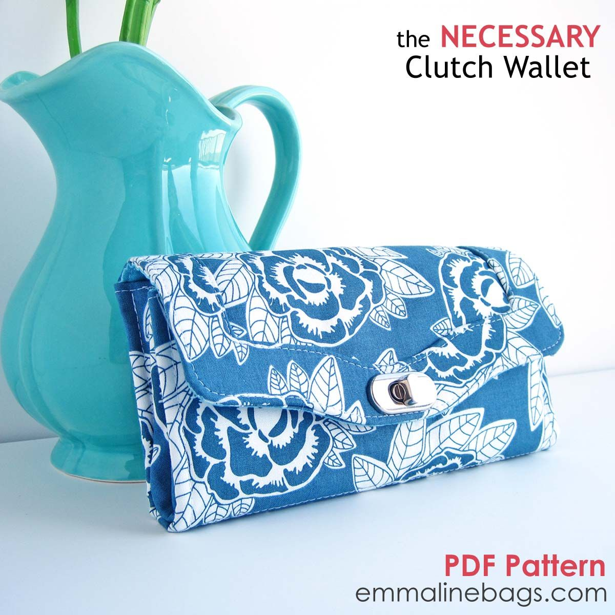 The necessary clutch wallet emmaline sewing patterns and purse the necessary clutch wallet emmaline sewing patterns and purse supplies jeuxipadfo Images