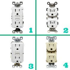 Learn The Differences Between These 4 Types Of Electrical Outlets