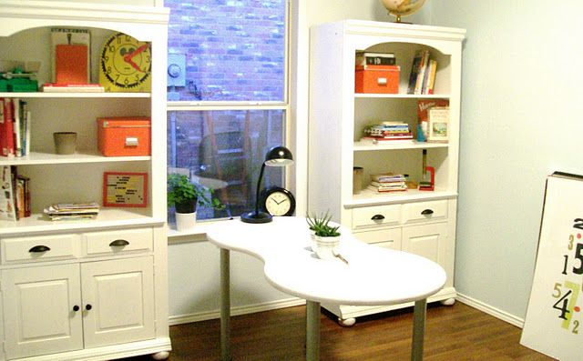 How to paint particleboard!