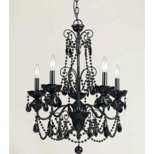 for a black and white themed room... so chic.