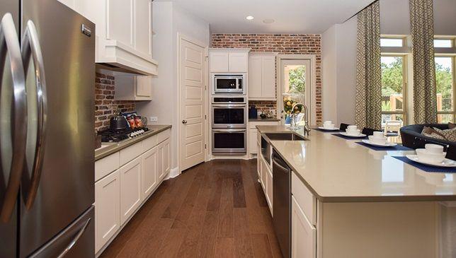 Modern kitchen in a stunning house in San Antonio ...