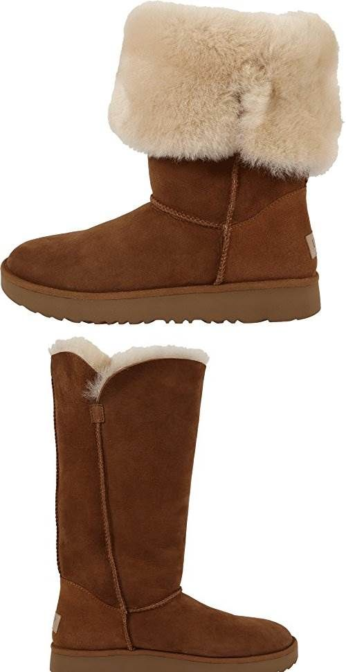 2dfbb132a73 UGG Womens Classic Cuff Tall Chestnut Shoe: Uggs are difficult to ...